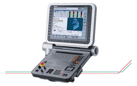 "19"" ERGOline Operating Panel with HEIDENHAIN iTNC 530 and ergonomic, tactile Input Field"