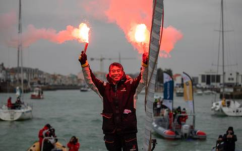 Kojiro Shiraishi - The first Asian skipper to finish the Vendée Globe